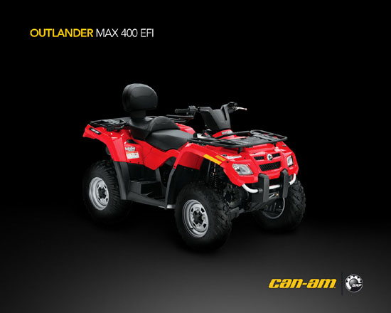 2009 Can-Am Outlander MAX 400 EFI