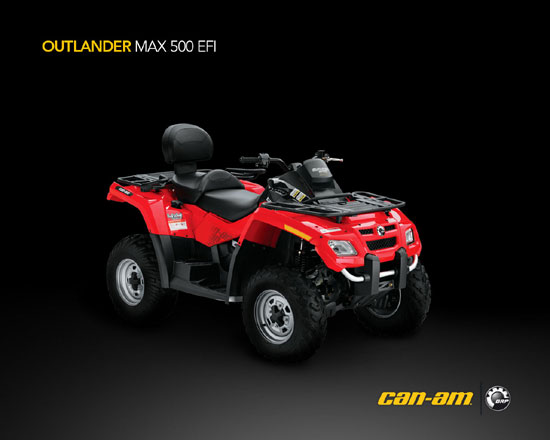 2009 Can-Am Outlander MAX 500 EFI