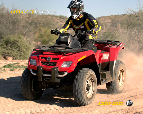 2009 Can-Am Outlander MAX 650 EFI