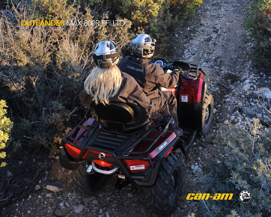 2009 Can-Am Outlander MAX 800R EFI LTD