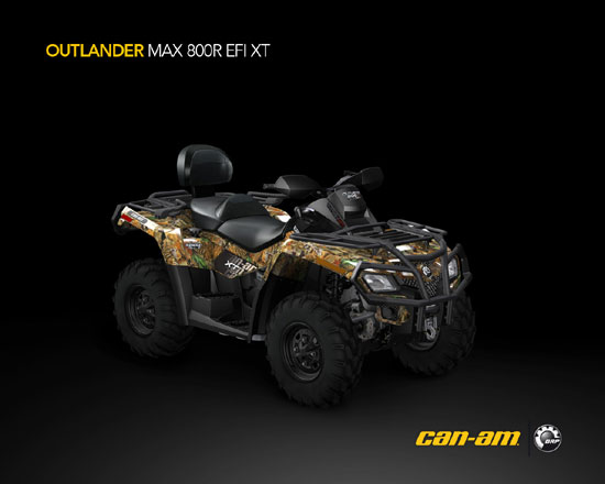 2009 Can-Am Outlander MAX 800R EFI