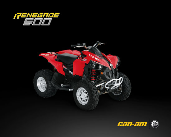 2009 Can-Am Renegade 500 EFI