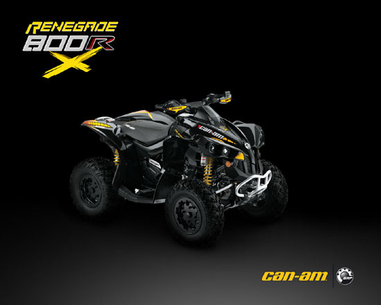 2009 Can-Am Renegade 800R EFI