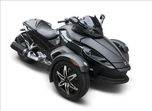 2009 Can-Am Spyder Roadster GS Phantom Black Limited Edition