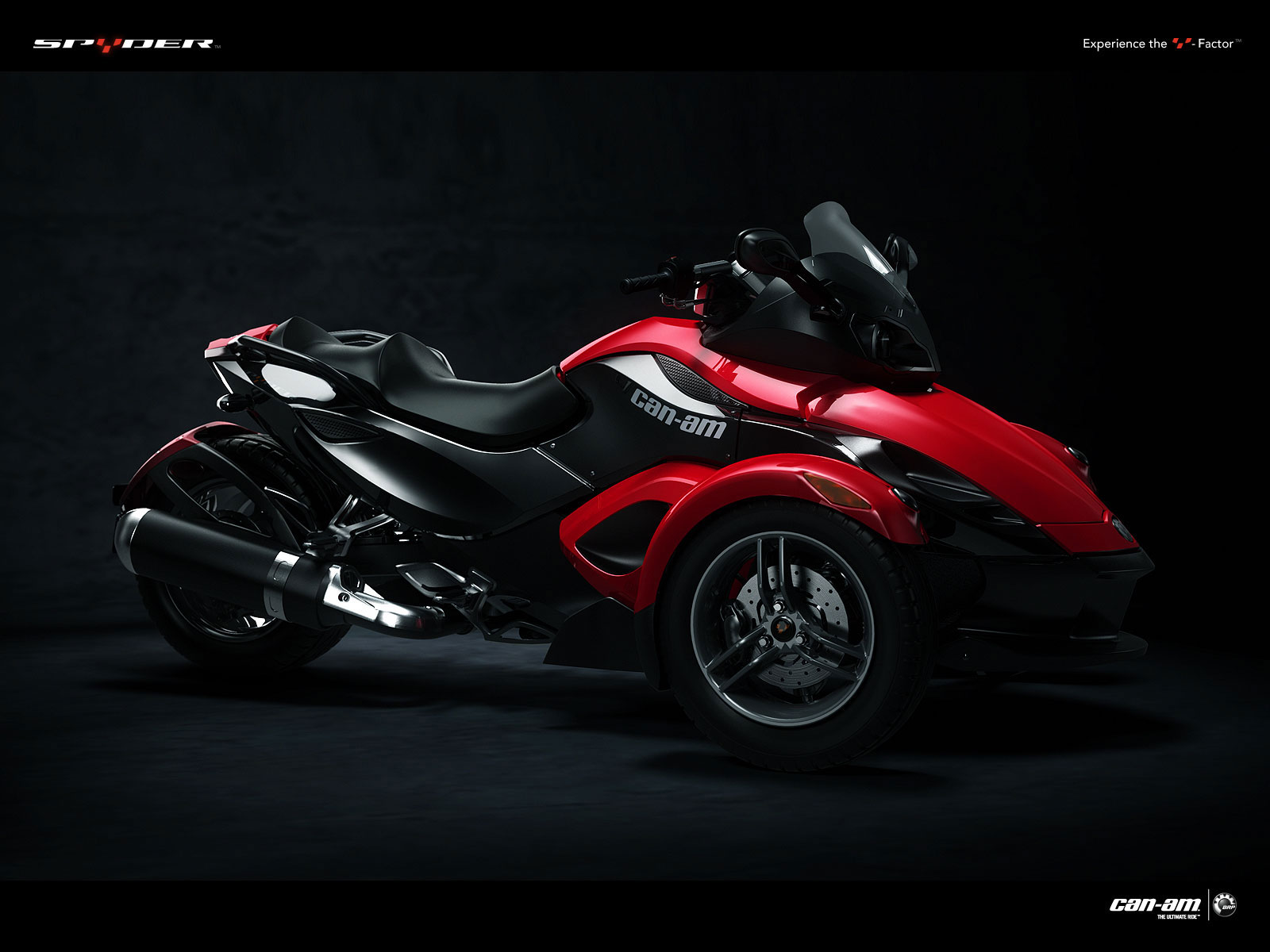 Can Am Spyder Roadster >> 2009 Can-Am Spyder Roadster SM5