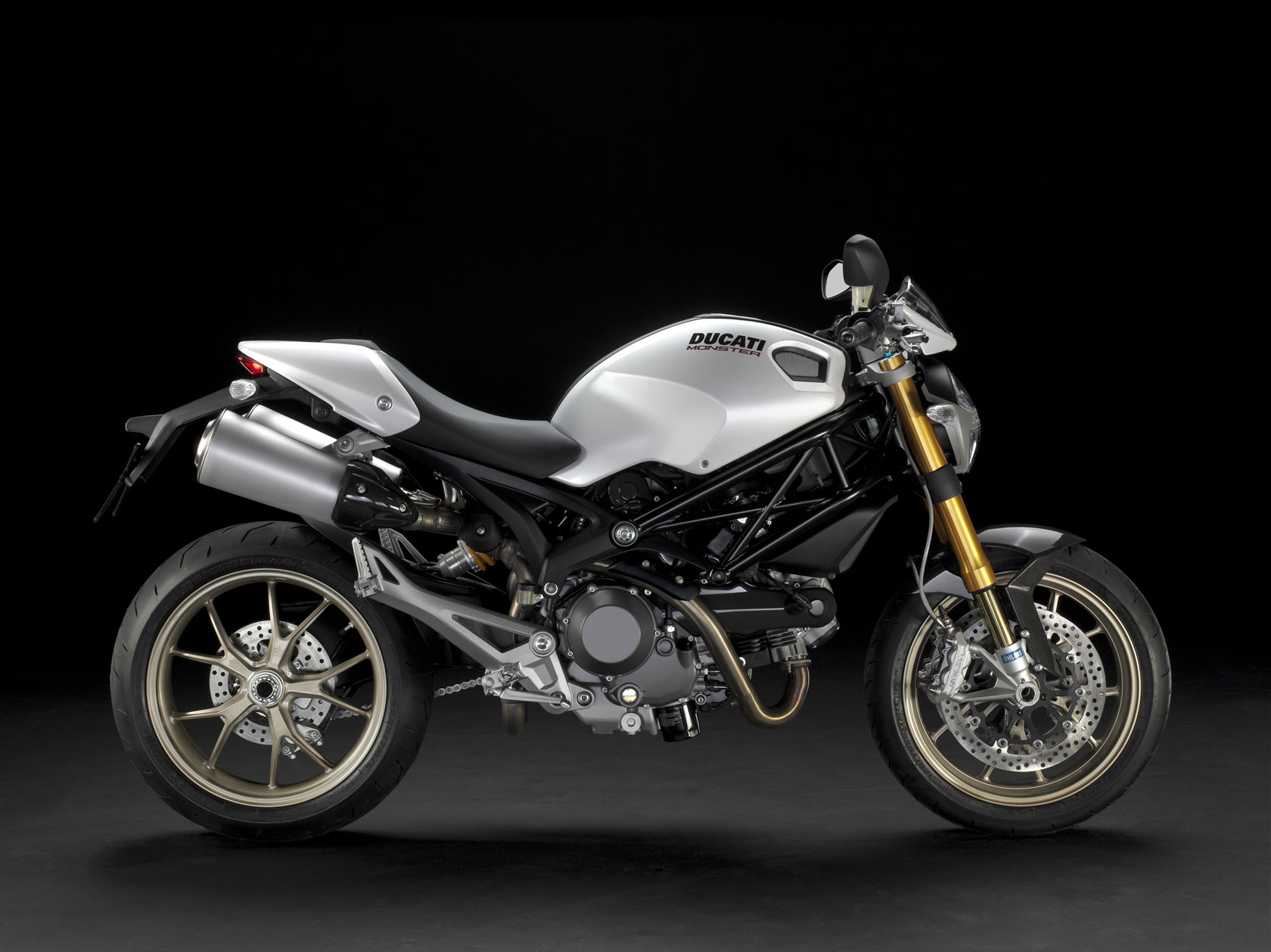 2009 Ducati Monster 1100S Side View