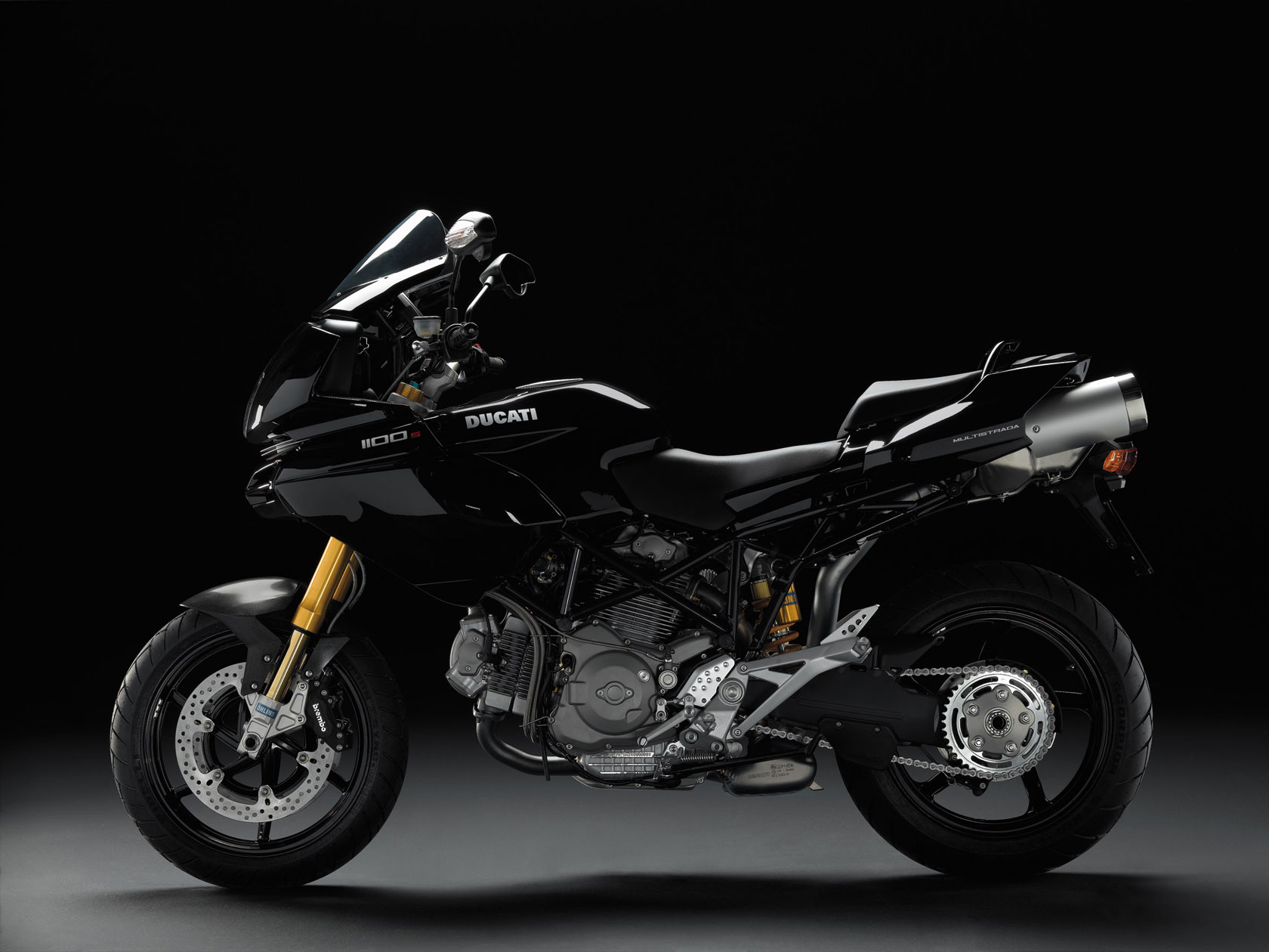 Ducati Multistrada 1100S Black Street Fighter Edition