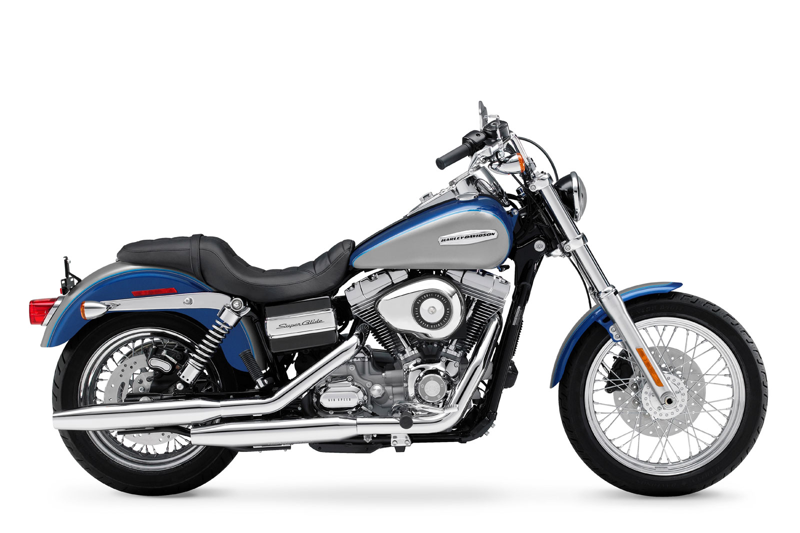 2009 Harley Davidson FXDC Dyna Super Glide Custom Motorcycle Picture