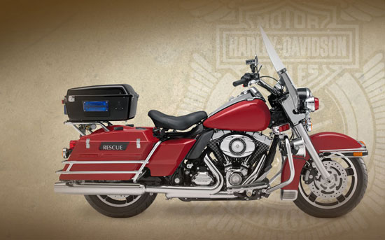 2009 Harley-Davidson Fire/Rescue Road King