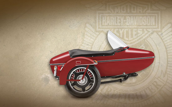 2009 Harley-Davidson Fire/Rescue TLE Sidecar