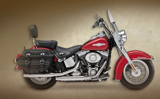 2009 Harley-Davidson Firefighter Heritage Softail Classic
