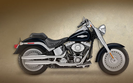 2009 Harley-Davidson Peace Officer Fat Boy