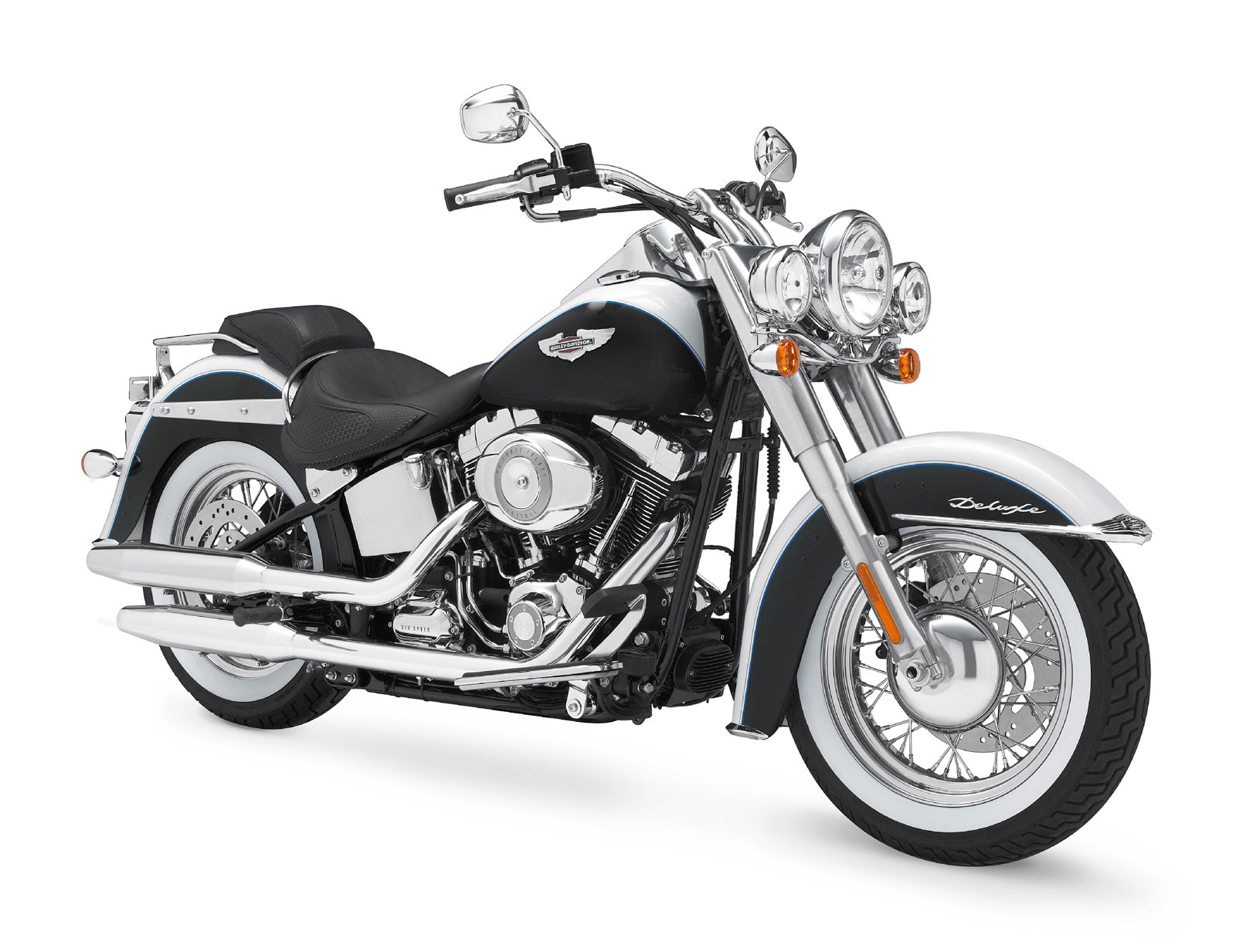 Harley Davidson Softail Deluxe Seat