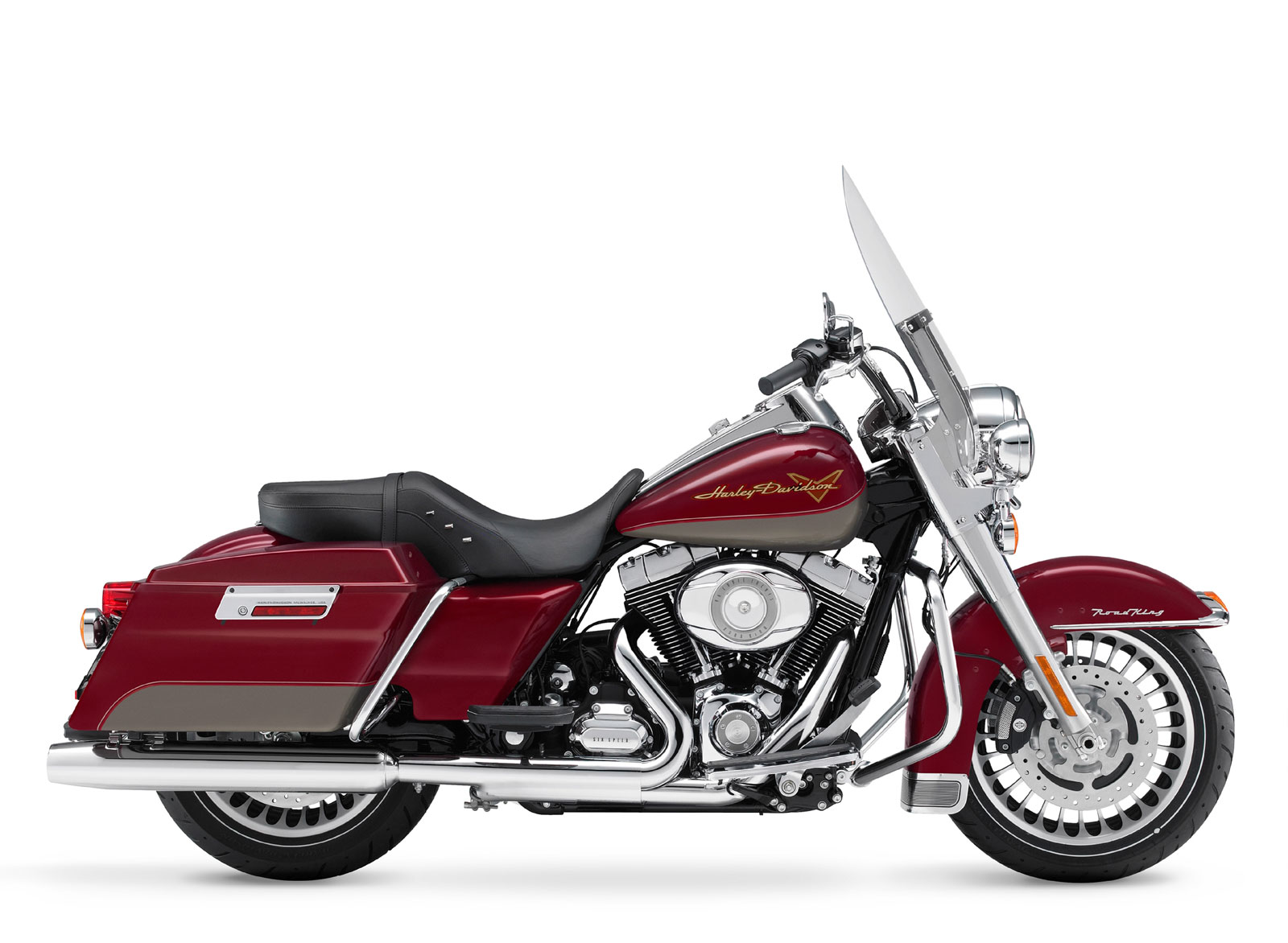 2009 Harley-Davidson FLHR Road King Motorcycles