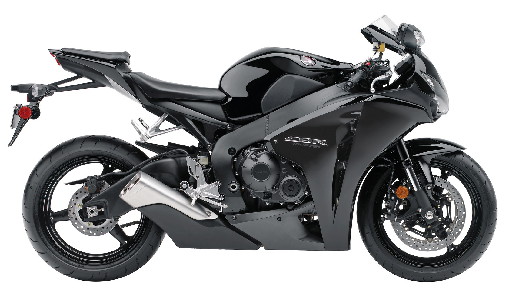 2009 Black Honda CBR1000RR ABS Motorcycle Picture