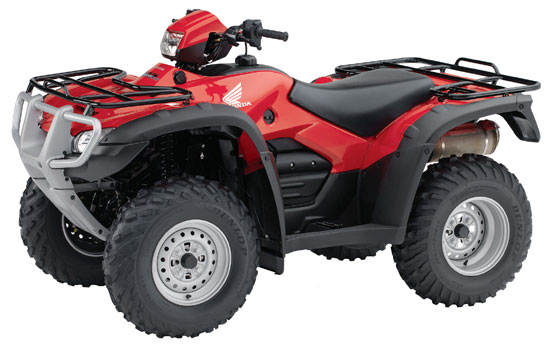 2009 Honda FourTrax Foreman 4X4 ES with Power Steering TRX500FPE