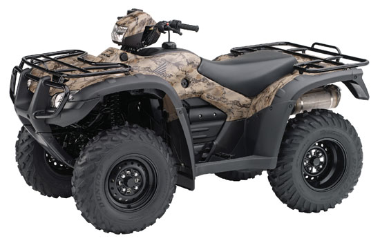 2009 Honda FourTrax Foreman 4X4 with Power Steering TRX500FPM