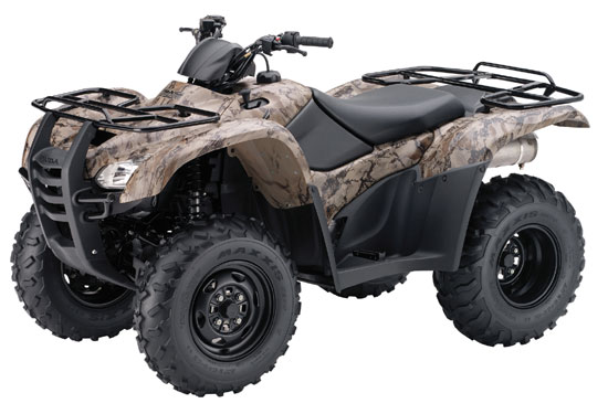 2009 Honda FourTrax Rancher 4X4 with Power Steering TRX420FPM