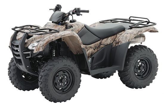 2009 Honda FourTrax Rancher AT TRX420FA