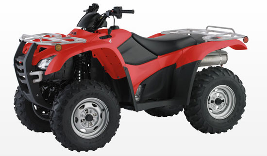 2009 Honda TRX420PG Canadian Trail Edition with Electric Power Steering (EPS)