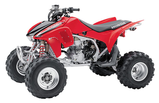 2009 Honda TRX450R (Kick Start)