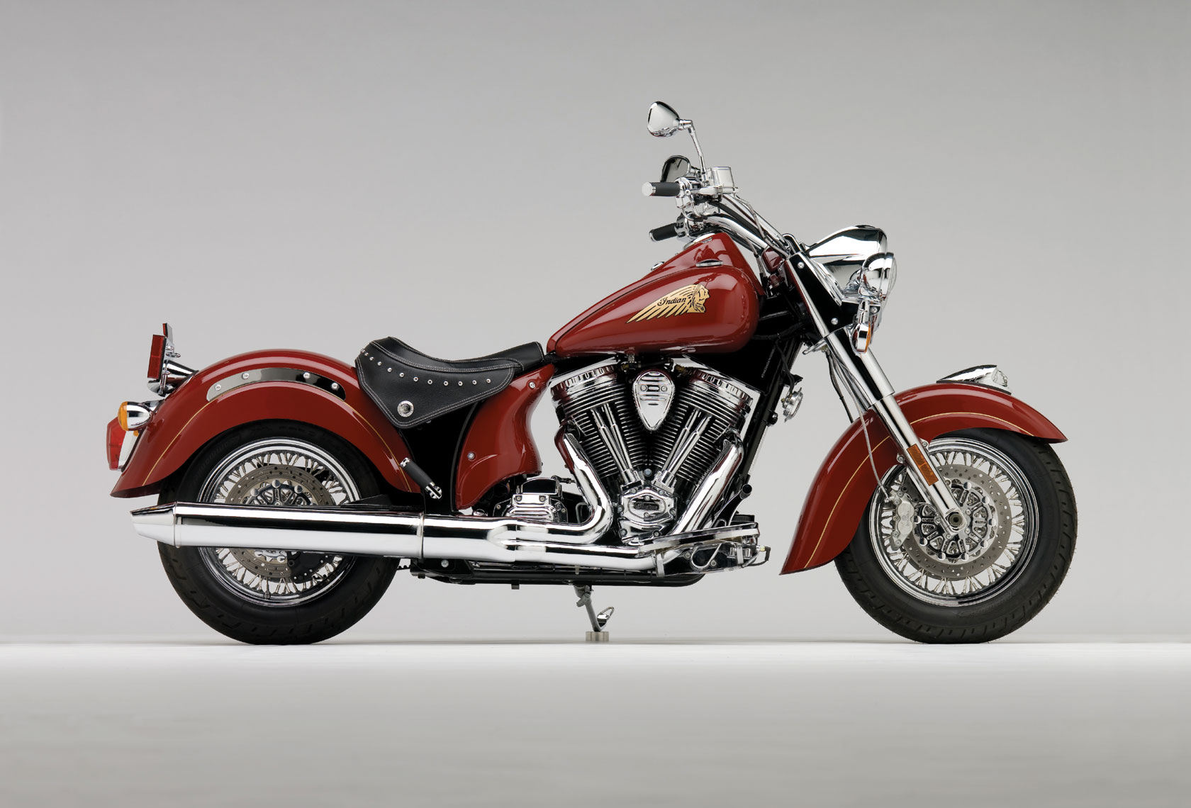 Indian Chief Motorcycle: 2009 Indian Chief Standard