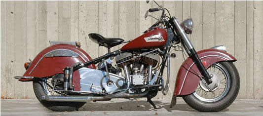1950-1953 History of Indian Motorcycle