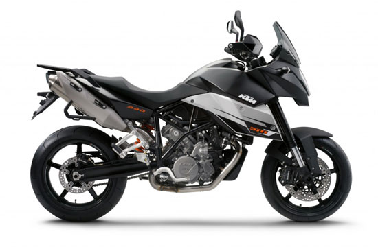 2009 KTM 990 Supermoto T Side View