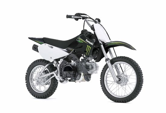 2009 Kawasaki KLX110 Monster Energy