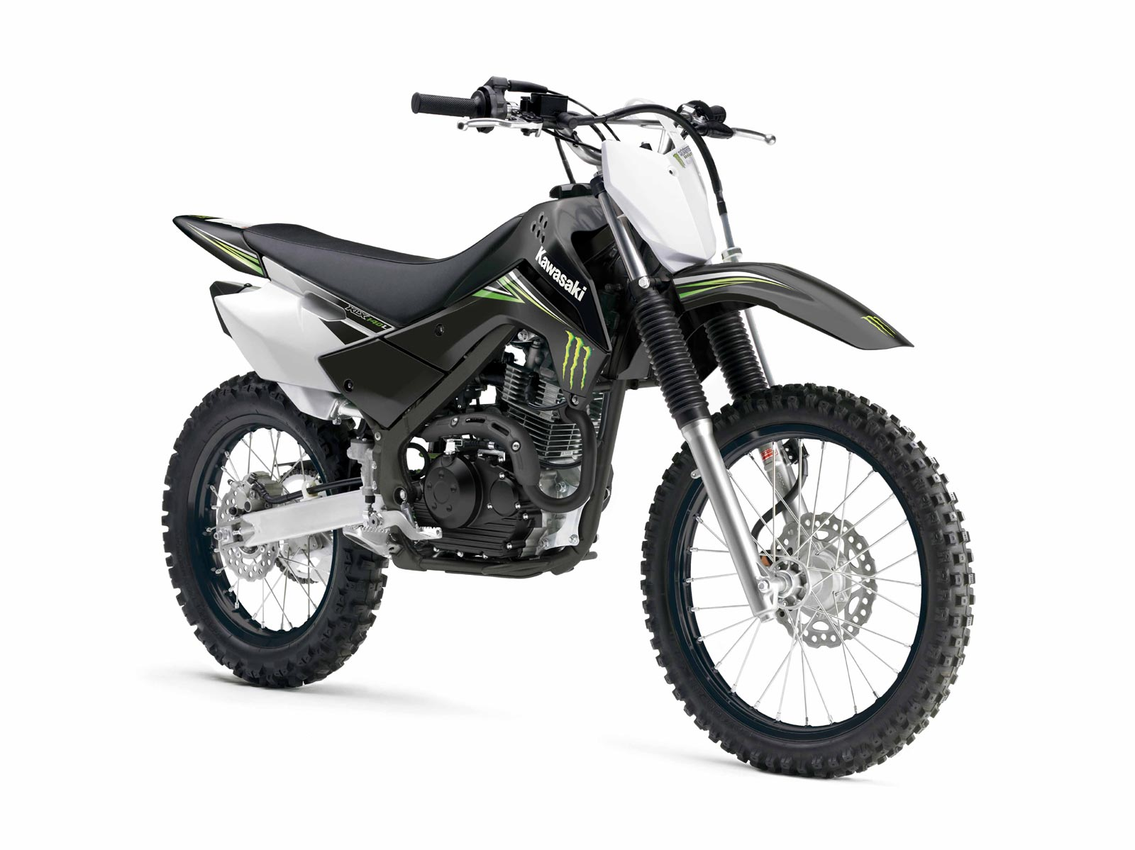 2009 Kawasaki Klx140 Monster Energy
