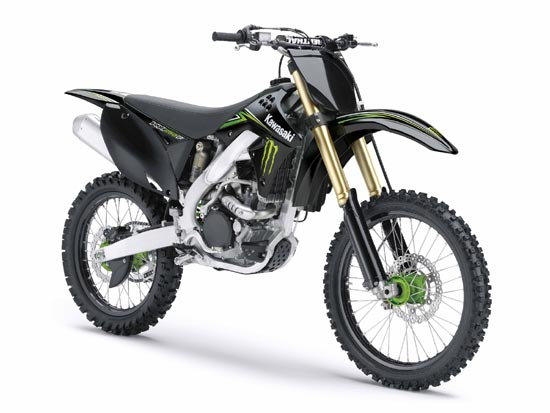 2009 Kawasaki KX250F Monster Energy
