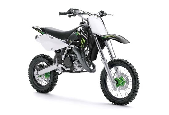 2009 Kawasaki KX65 Monster Energy