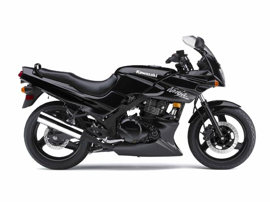 2009 Kawasaki Ninja Motorcycle 500R Black Pictures