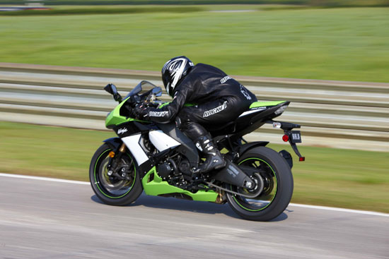 2009 Kawasaki ZX-10R Test Ride