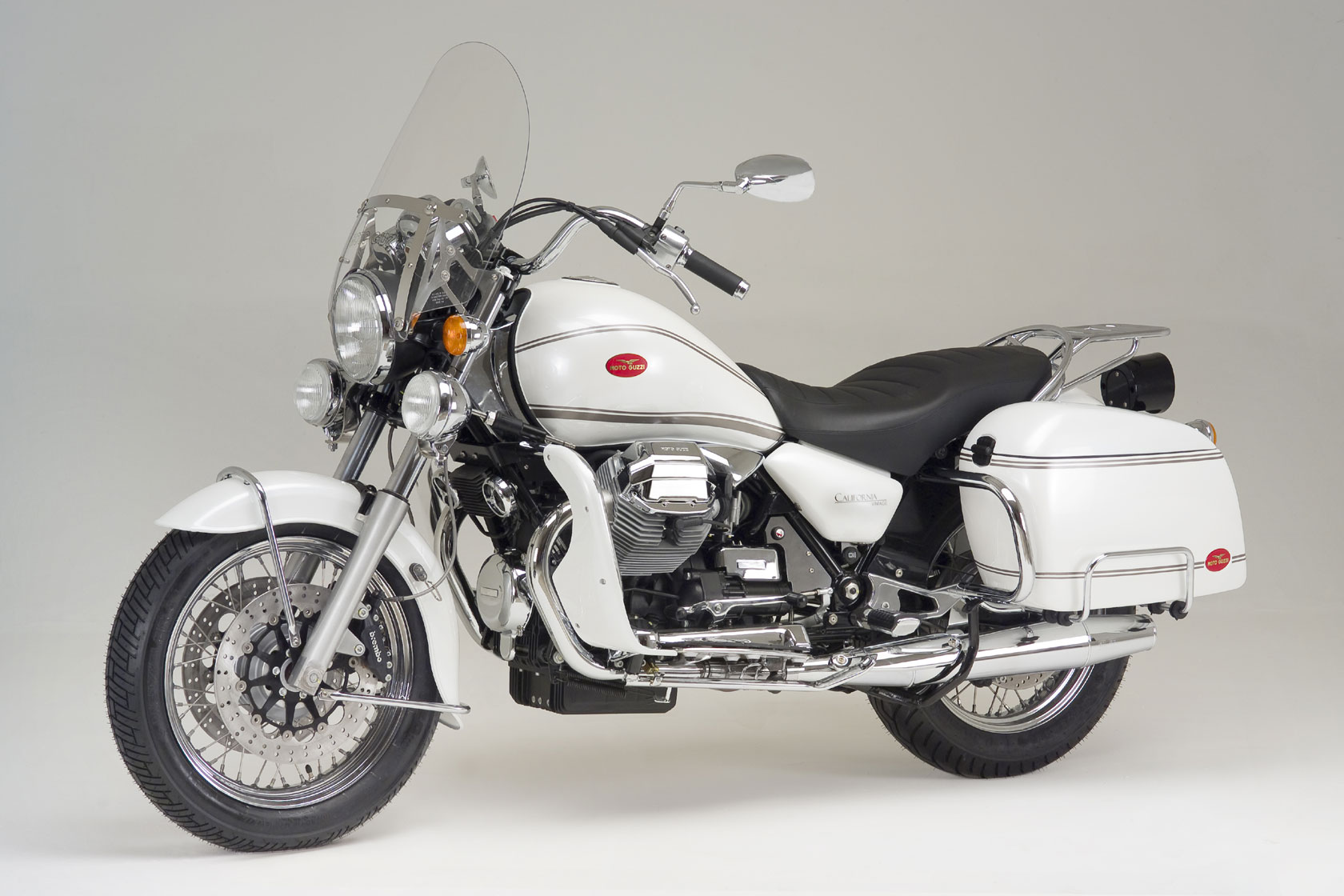 2009 Moto Guzzi California Vintage Wallpaper