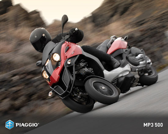 2009 Piaggio MP3 500 Best Picture