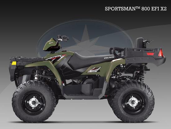 2009 Polaris Sportsman 800 EFI X2