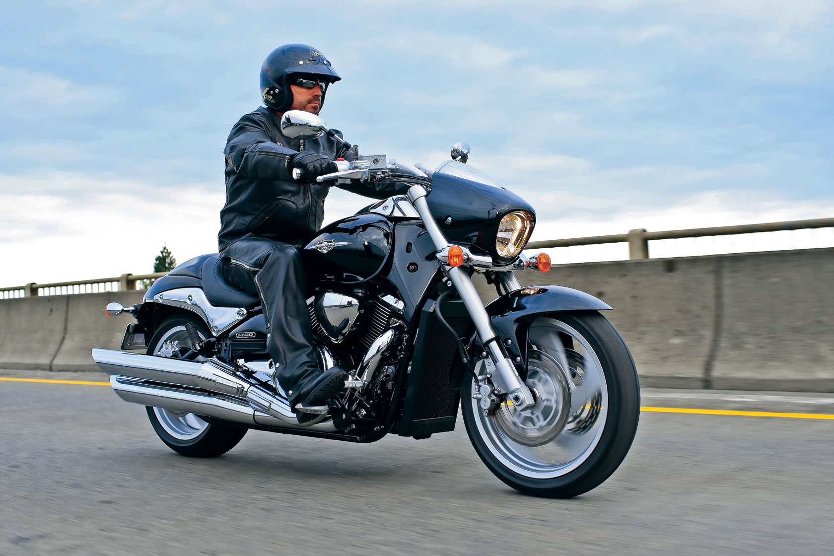 2009 Suzuki Boulevard M109R Test Ride