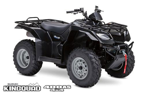 2009 Suzuki KingQuad 400AS Anniversary Edition