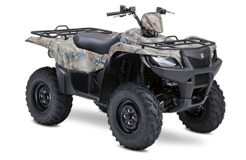 2009 Suzuki KingQuad 500AXi Power Steering Camo