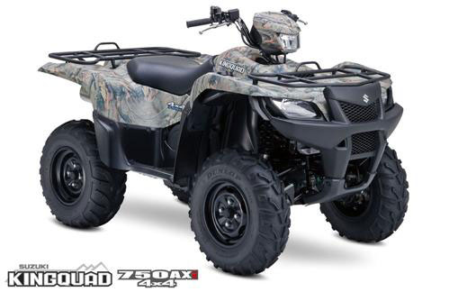 2009 Suzuki KingQuad 750AXi Power Steering Camo