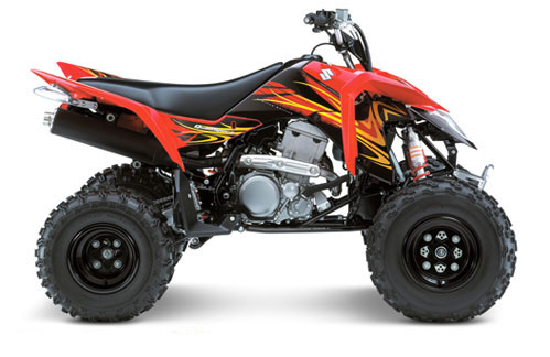 2009 Suzuki QuadSport Z400 (Z400Z) Limited Edition