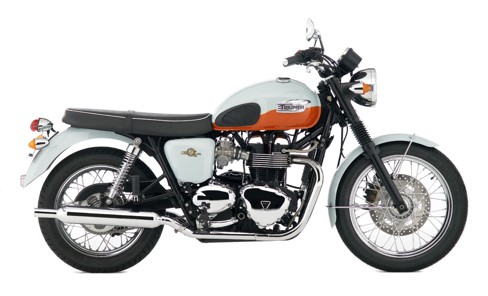 2009 Triumph Bonneville T100 Motorcycle 50th Anniversary Edition