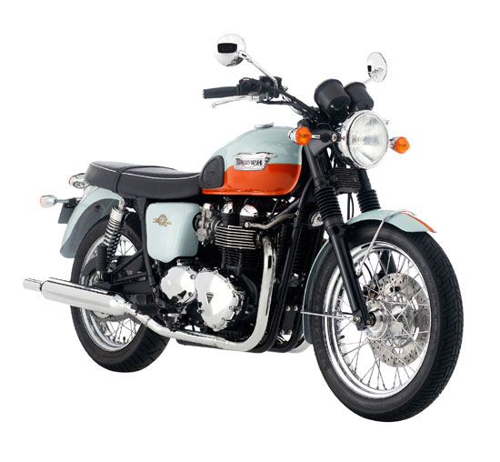 2009 Triumph Bonneville T100 50th Anniversary Edition
