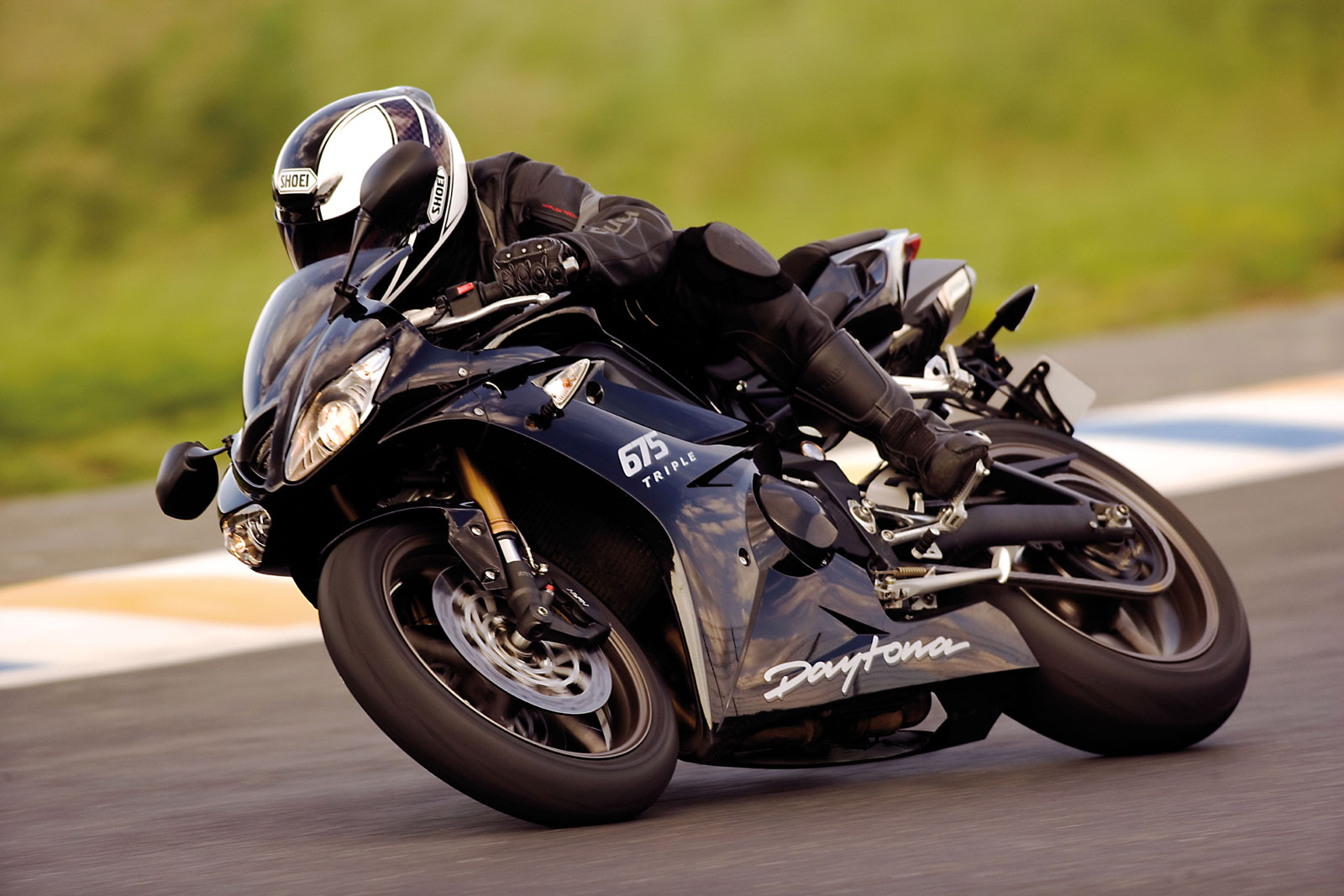2009 Triumph Daytona 675 Best Action