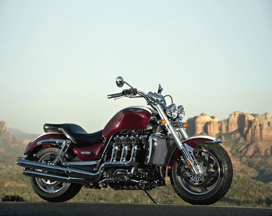 2009 Triumph Rocket III Wallpaper