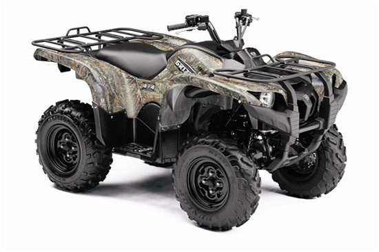 2009 Yamaha Grizzly 550 FI Camo AP HD