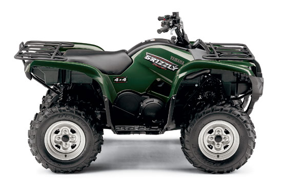 2009 Yamaha Grizzly 550 FI EPS