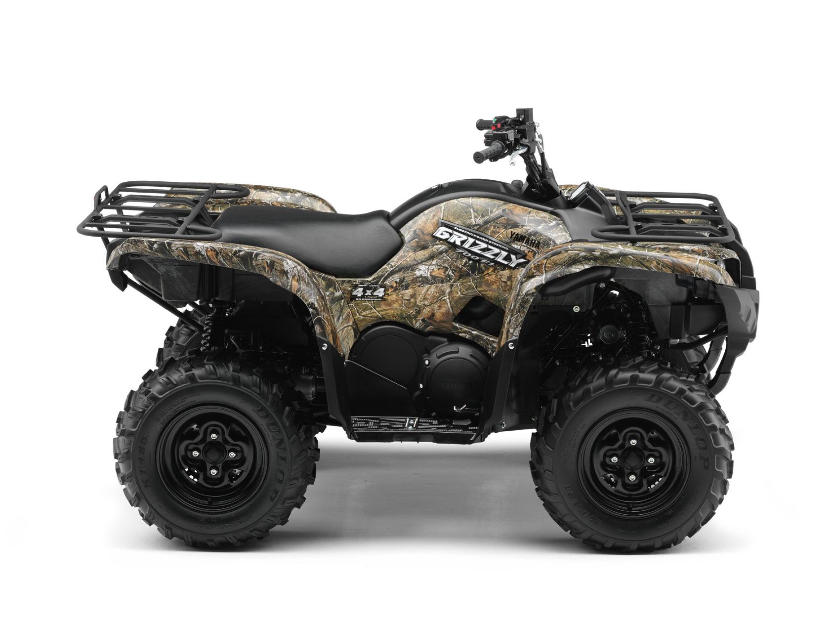 2009 yamaha grizzly 700 fi camo ap hd for Yamaha grizzly atv