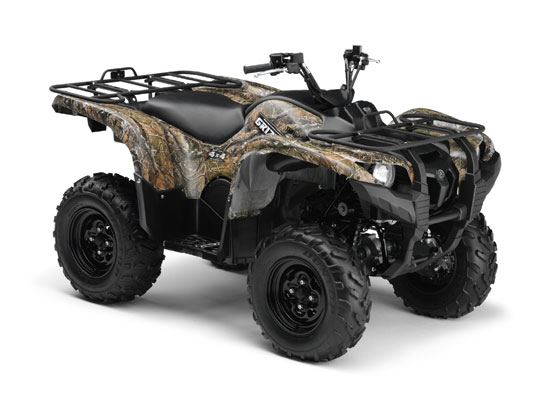 2009 Yamaha Grizzly 700 FI Camo AP HD